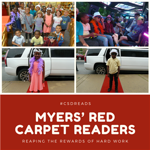 Myers Students : Red Carpet Readers